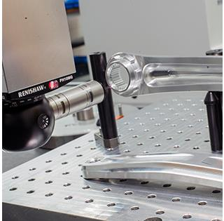 Renishaw PH10 / SP25M and modular fixturing contribute to Hope's quality control process