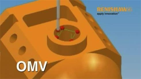 Renishaw OMV video
