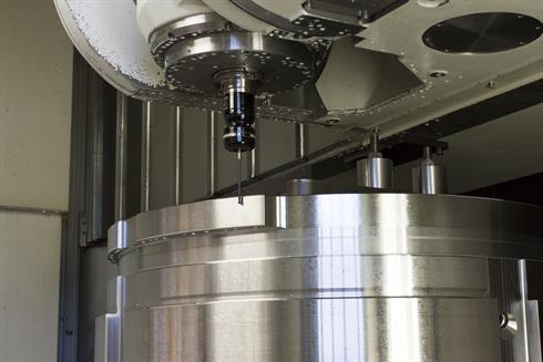Intoco uses Renishaw probing systems to measure large components during the manufacturing process