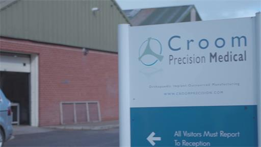 Additive manufacturing orthopaedic implants for Croom Precision Medical